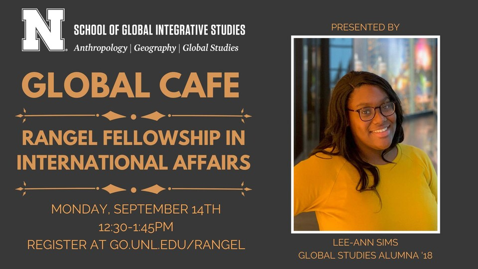 Global Café to discuss Rangel Fellowship