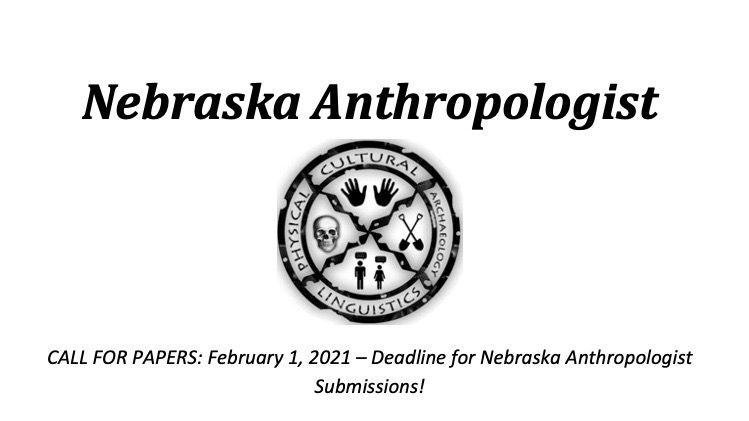 Call for Papers: Submit to Nebraska Anthropologist by Feb 1