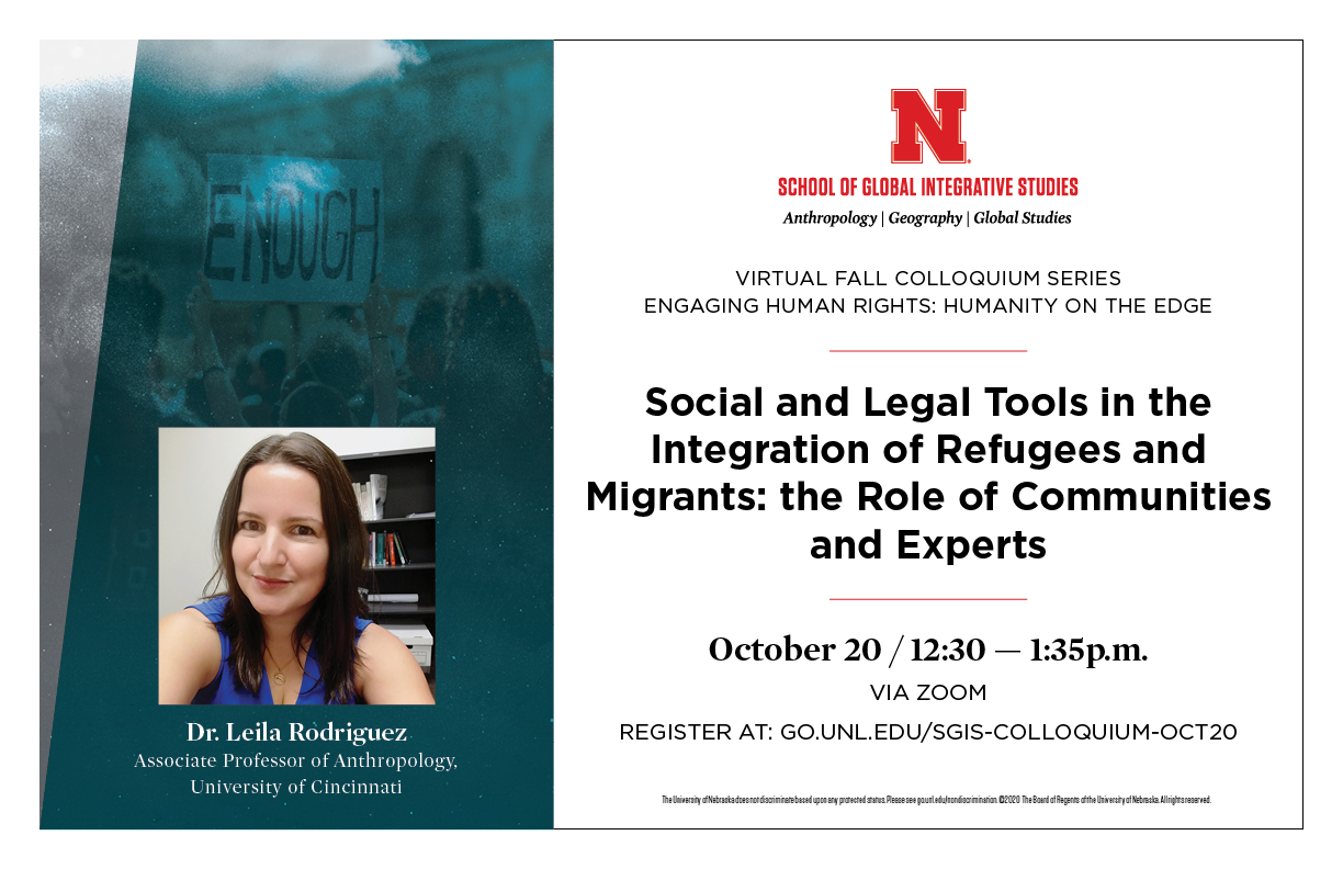 Second colloquium about the integration of migrants and refugees on Oct 20