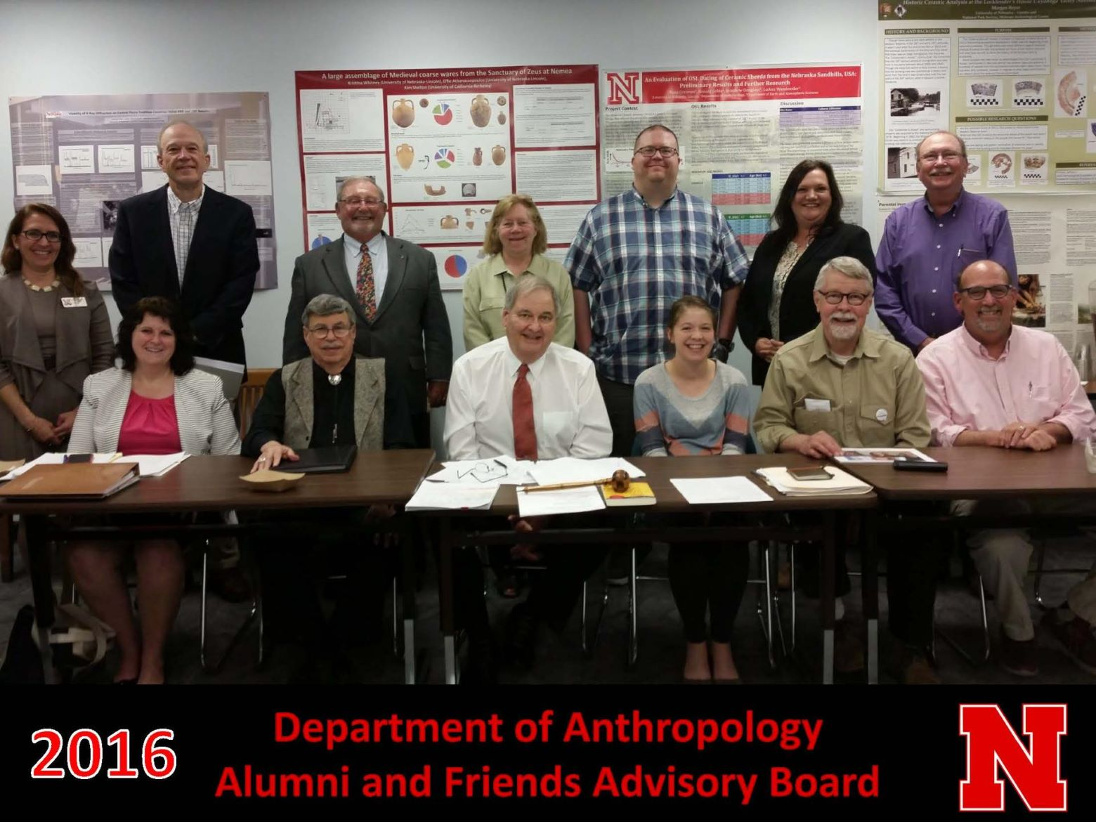 2016 Alumni and Friends advisory board